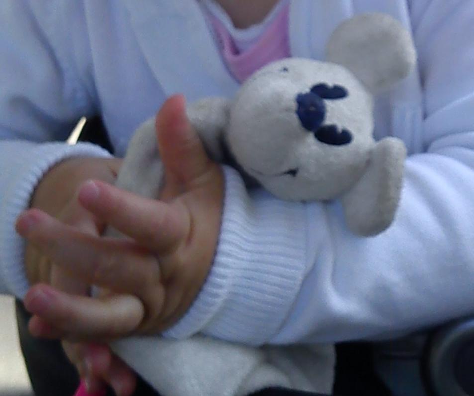 Een klein meisje met een hart zo groot!