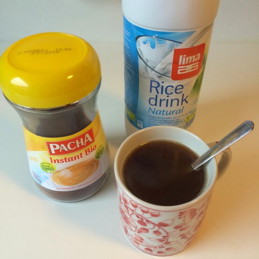 koffie vervangen door chicorei