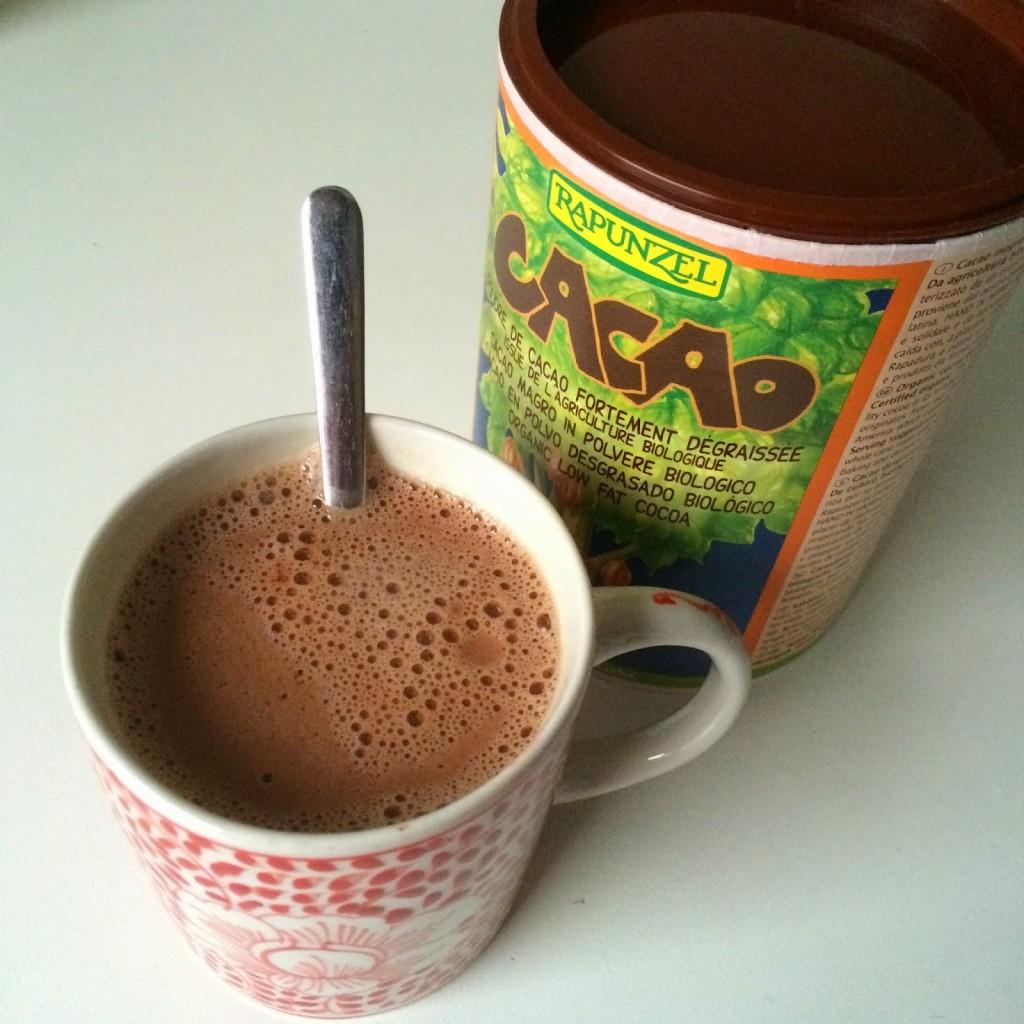 koffie vervangen door chocolademelk