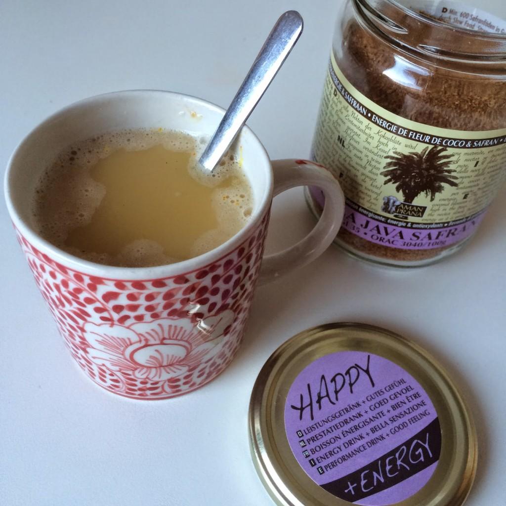 koffie vervangen door Amanprana Safran