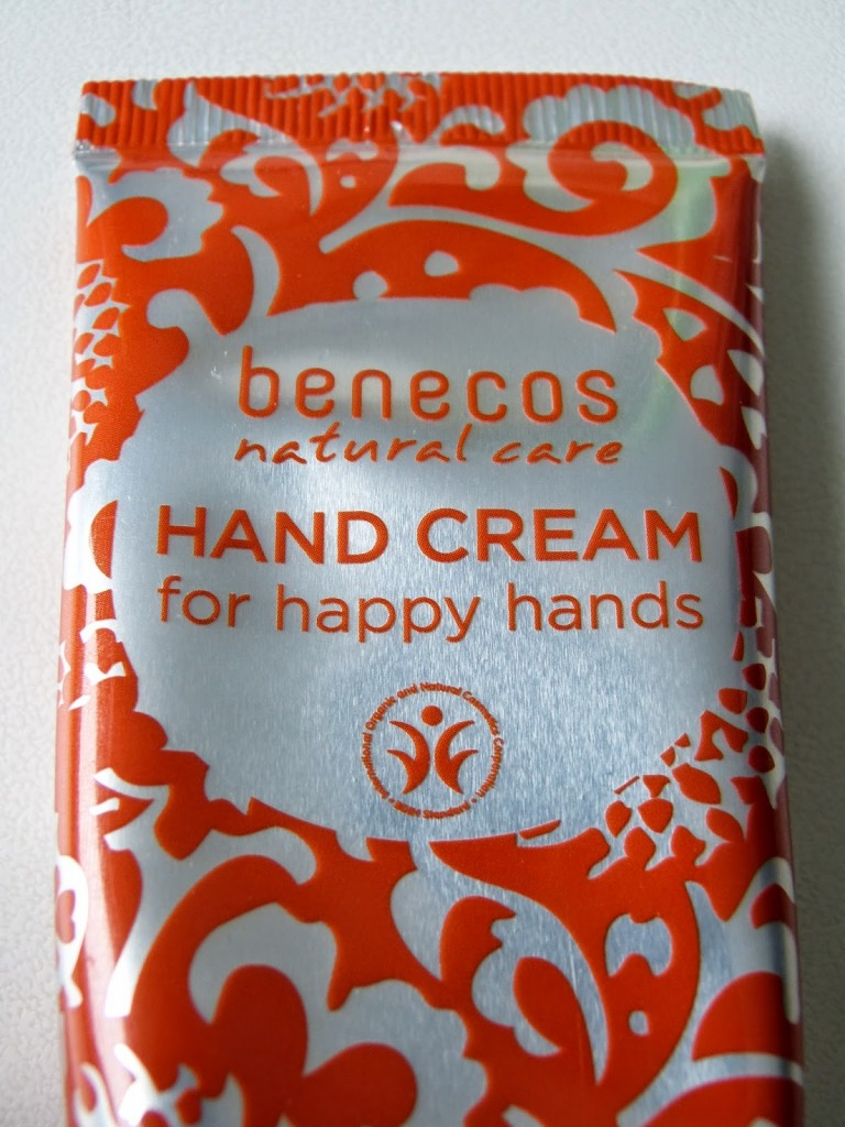 benecos hand cream for happy hands