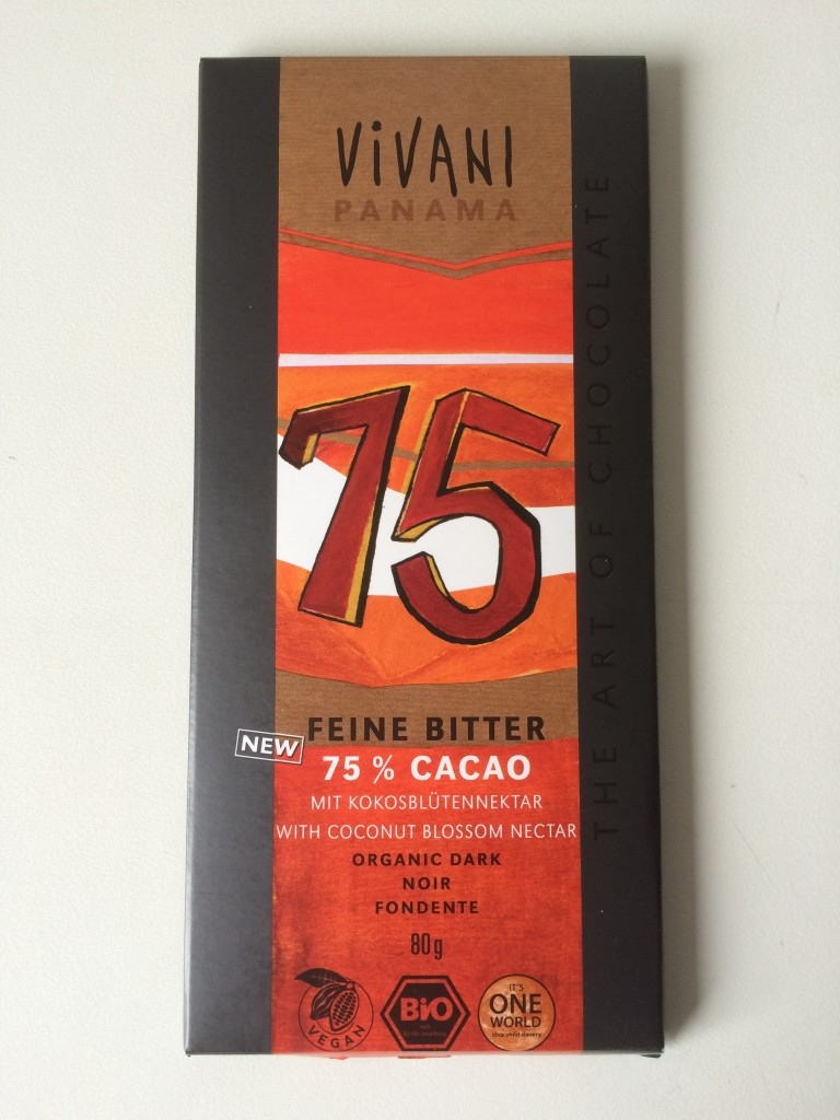 vivani chocolade 75 zonder suiker