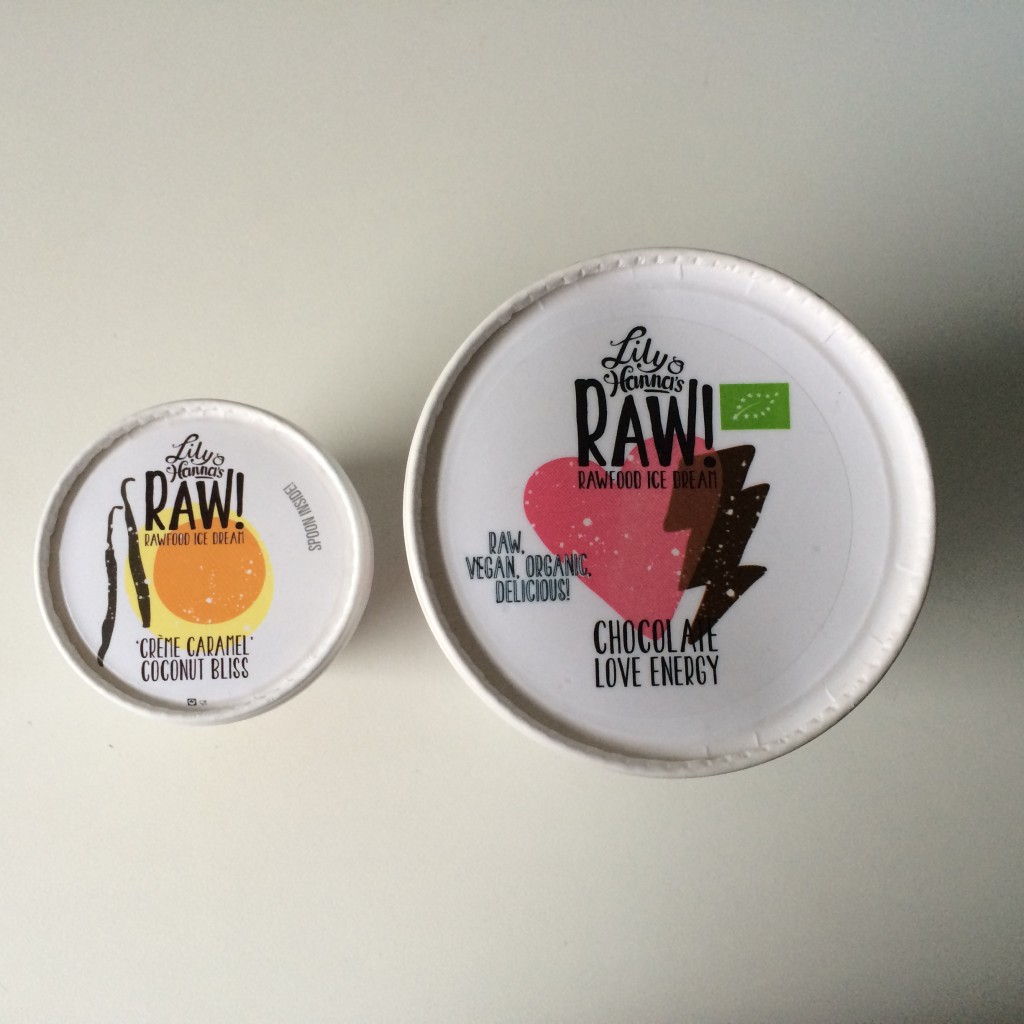 Lily & Hanna's raw food ice dream