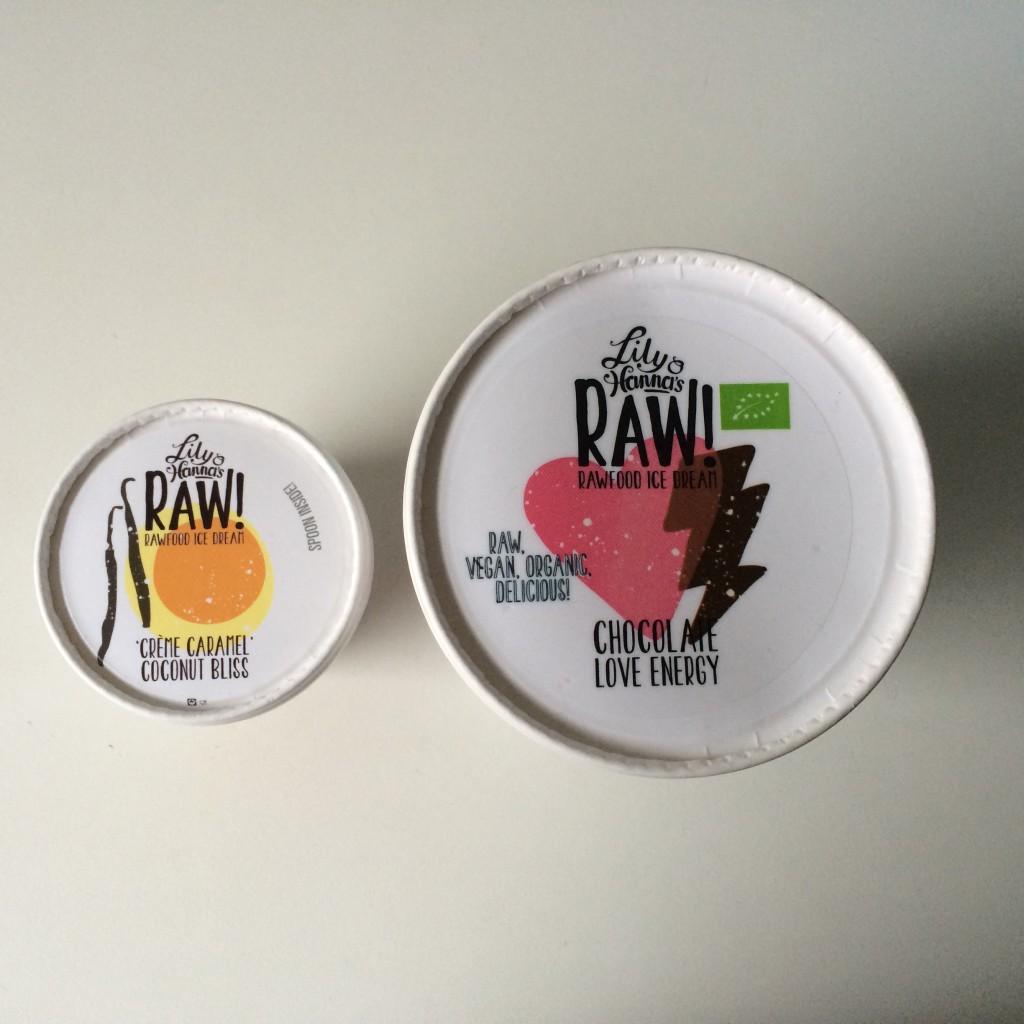 Lily & Hanna's raw food ice dream