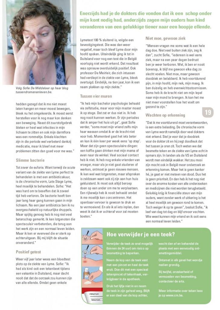 interview chronische Lyme CM
