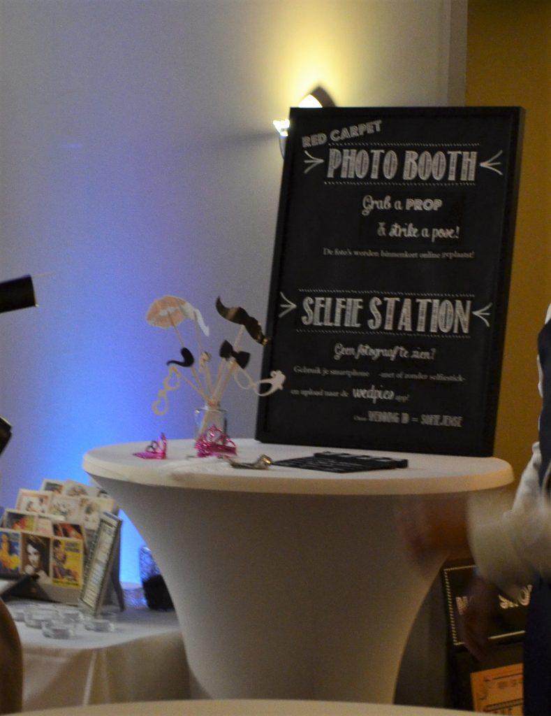 DIY fotohoek photobooth