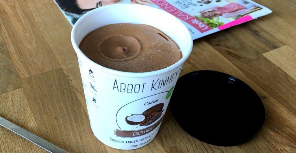Abbot Kinney's Coco frost Frozen Yoghurt