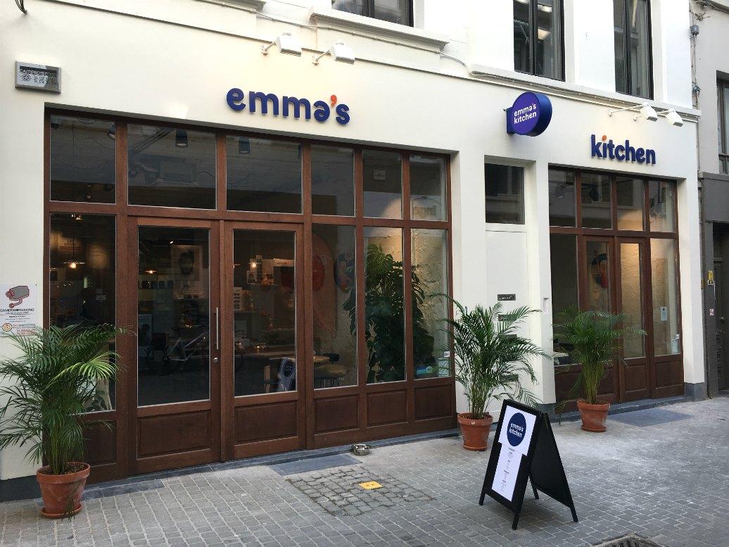 Hotspot: gezonde fastfood bij Emma's Kitchen in Antwerpen