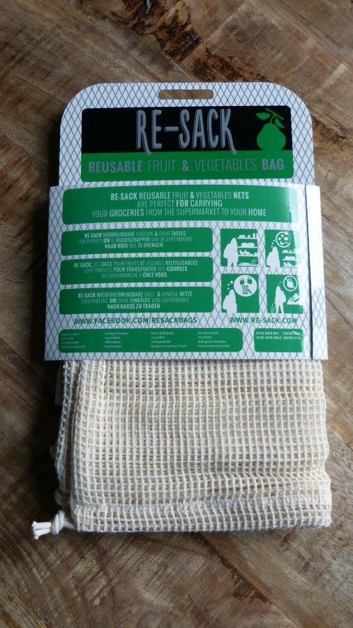 herbruikbare zakjes voor groenten en fruit re-sack
