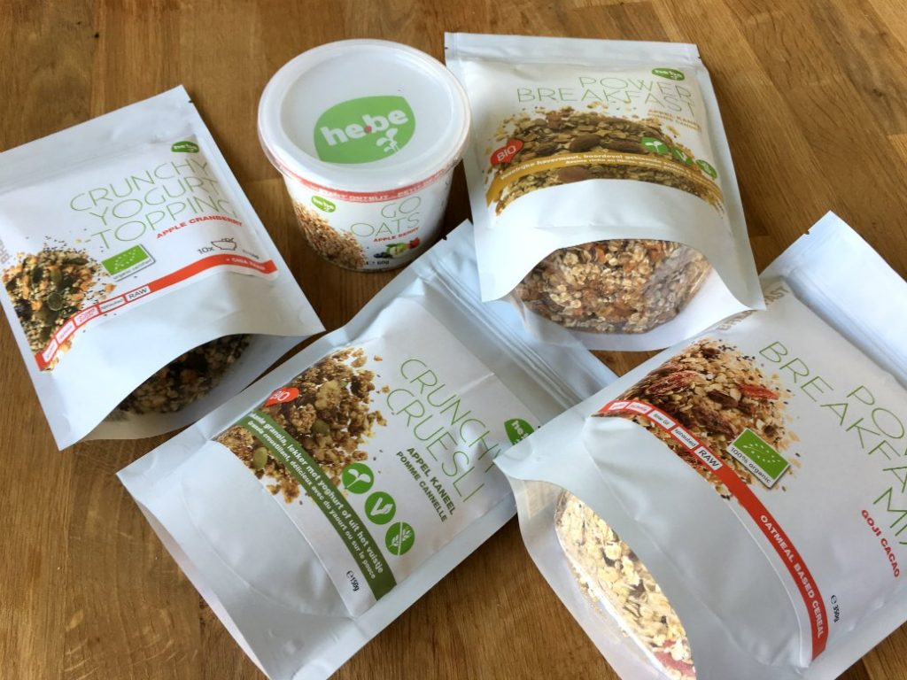 ervaring havermout en toppings he-be