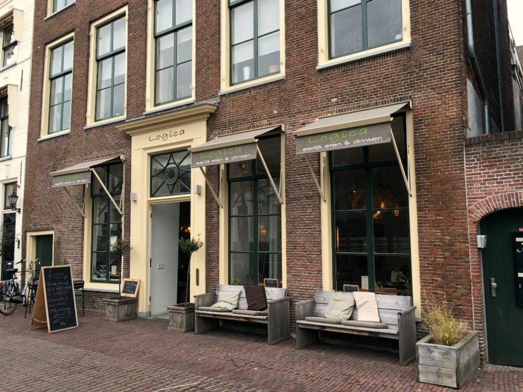 Groene hotspots in Leiden Logica