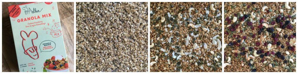 granola van arthur's mix bakmix