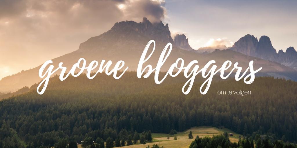 Groene bloggers om te volgen