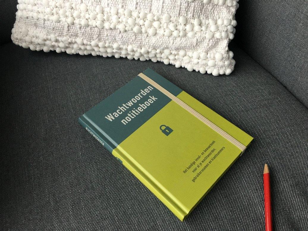wachtwoorden notitieboek