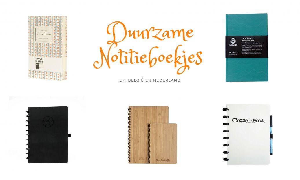 Op mijn verlanglijst: Duurzame notitieboekjes