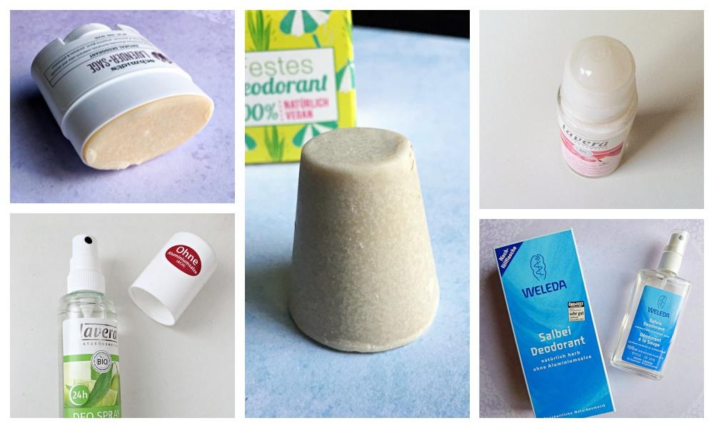 5 X Natuurlijke deodorant vergeleken: welke is mijn favoriet?
