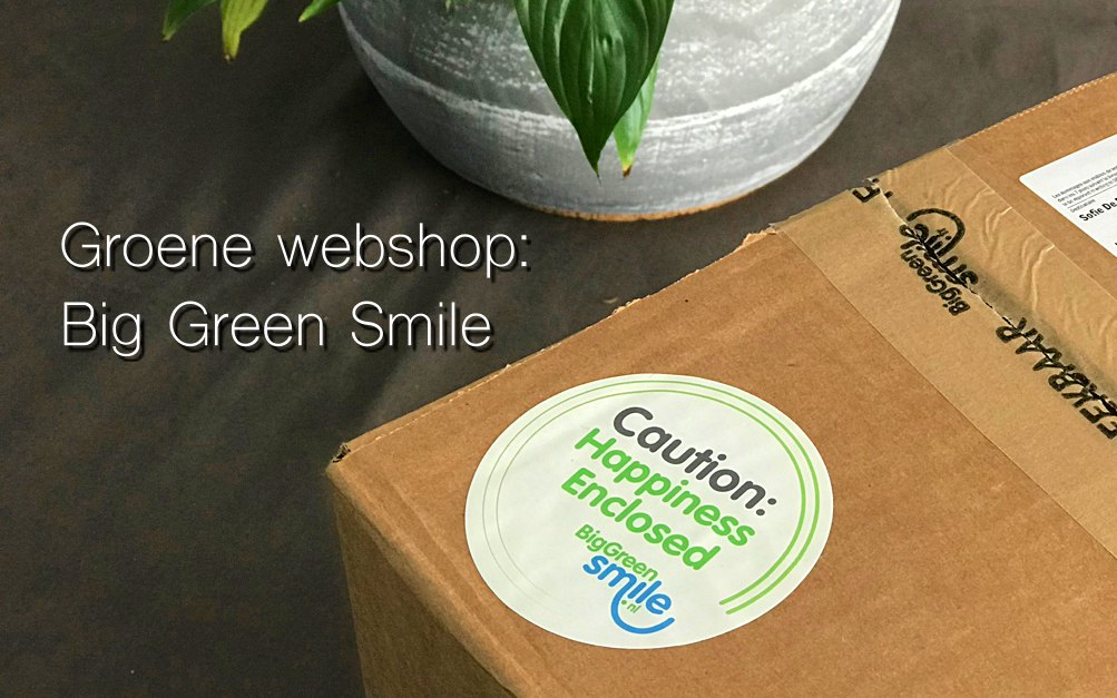 groene webshop big green smile review ervaring
