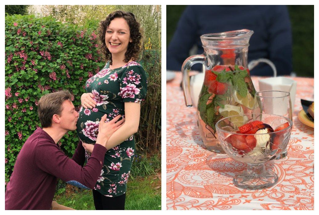 Zwangerschap week 33 en 34: Babywasjes, monitor en vriendinnenklets
