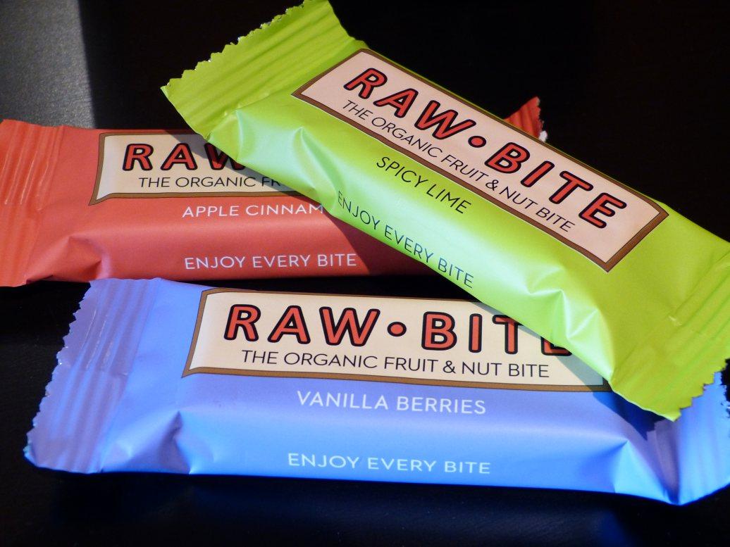 Gezonde snack voor onderweg: Raw Bite repen (glutenvrij, suikervrij, vegan)