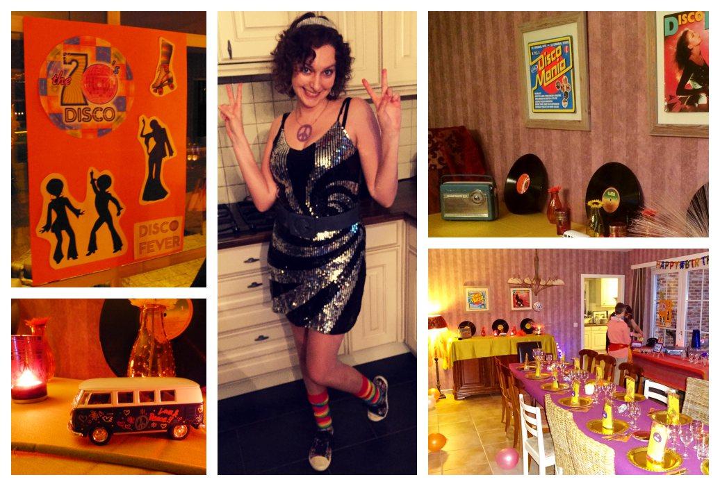 Sixties & seventies verrassing: budgetvriendelijk themafeest voor mijn lief