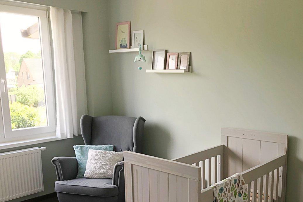 Voor en na: een kijkje in de babykamer!