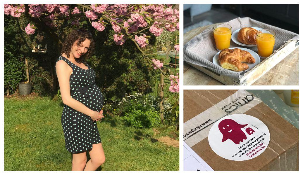 Zwangerschap week 36: luierconsult, uitputting en ontsluiting