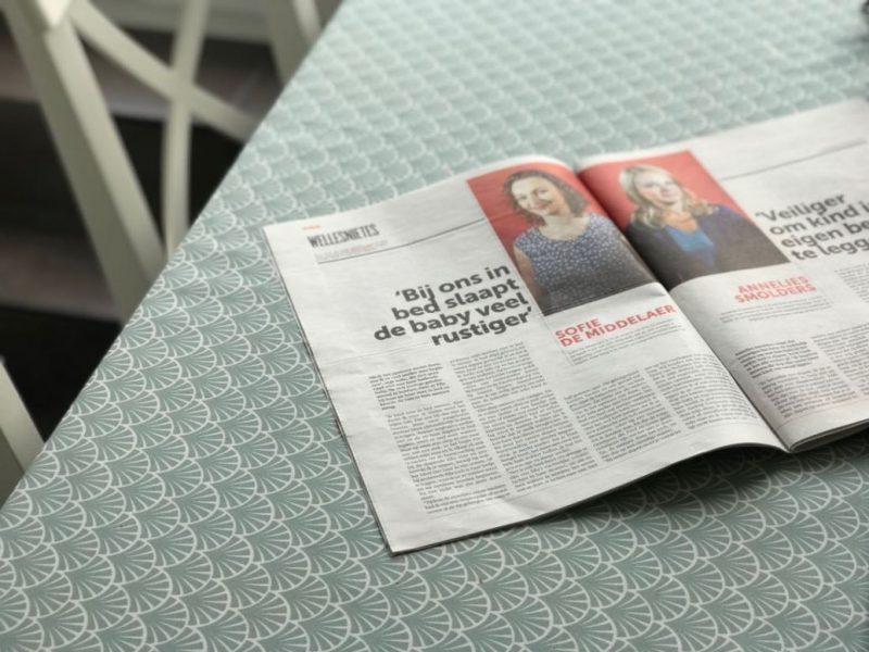 In de krant: Is het verstandig om samen te slapen met je baby?