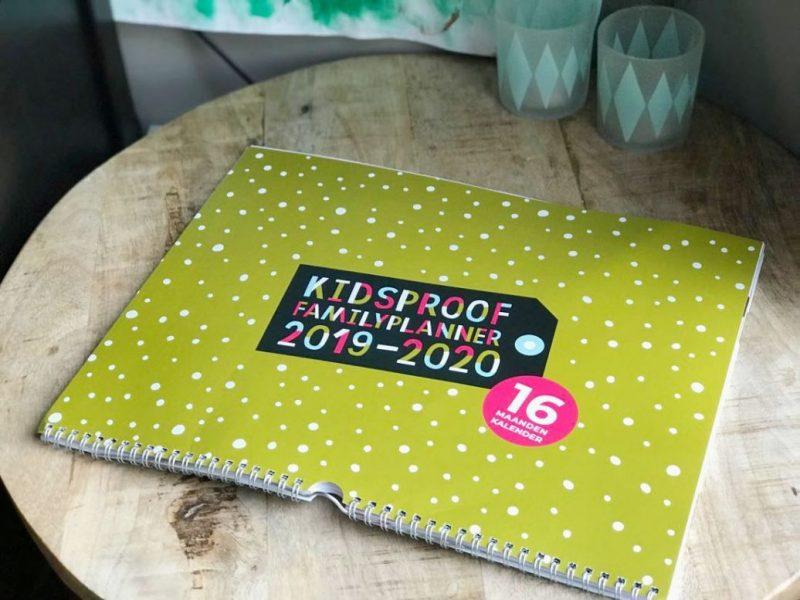 14 originele manieren om een familieplanner te gebruiken + WIN Kidsproof Familyplanner 2019-2020