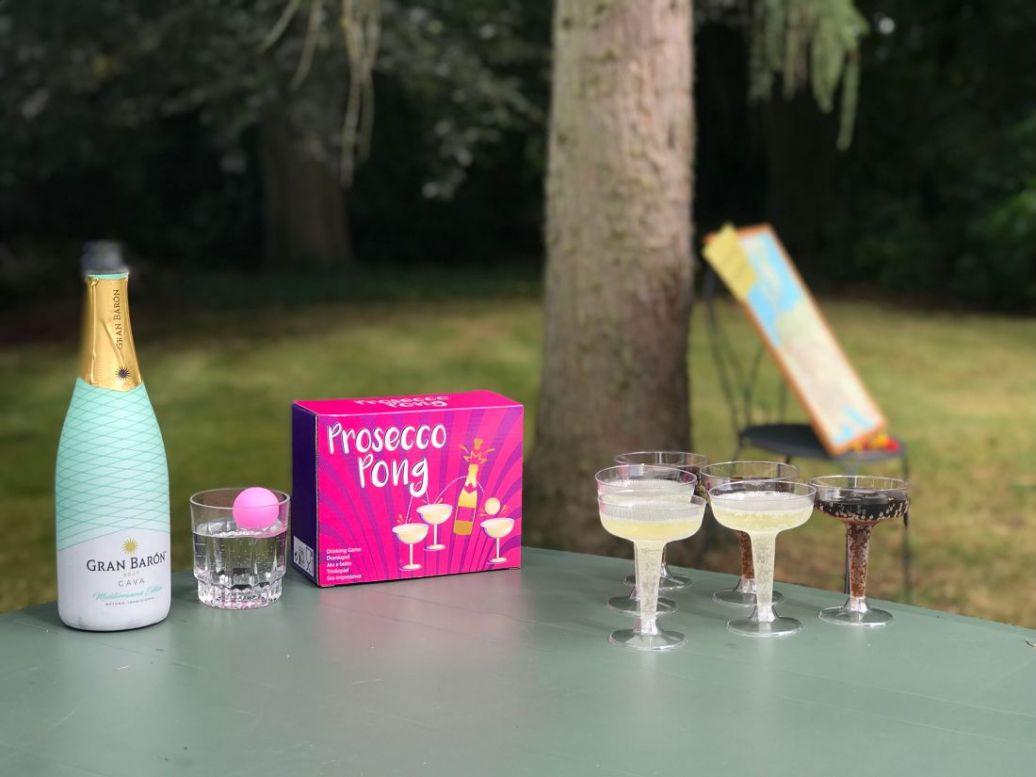prosecco Pong vrijgezellenfeest bidal showen spelletjes