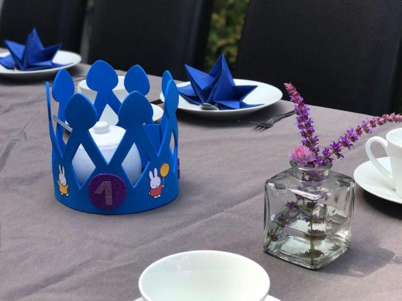 Tips voor een zero waste verjaardagsfeest | Ella werd 1 jaar!