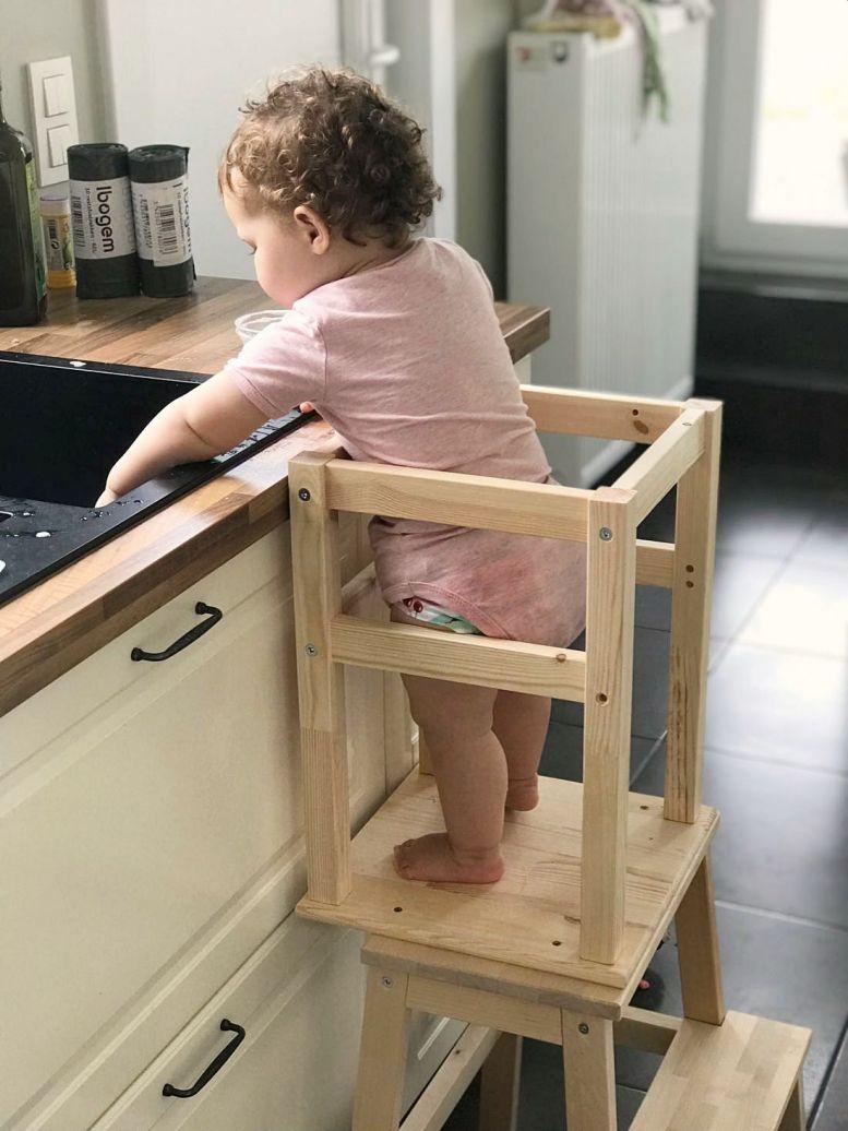 zelf leertoren maken Ikea hack