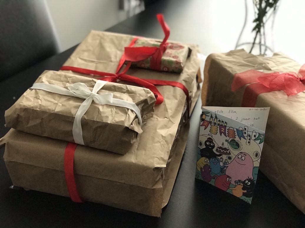 zero waste cadeautjes inpakken