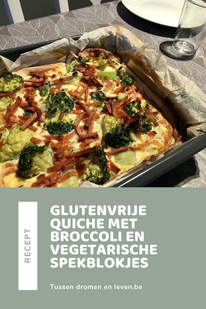 recept voor glutenvrije quiche