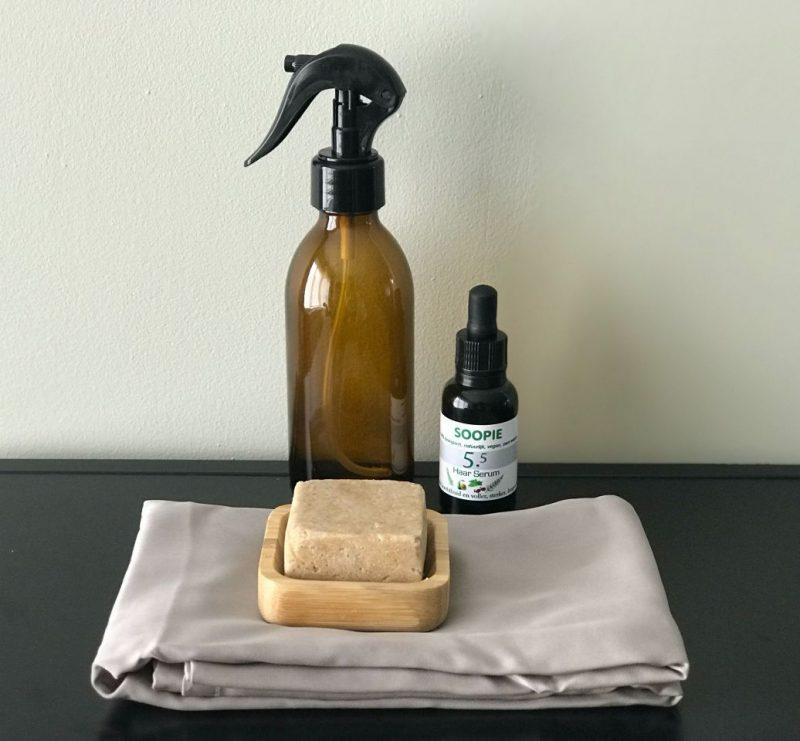 Zero waste Curly Girl + Review Soopie shampoobar