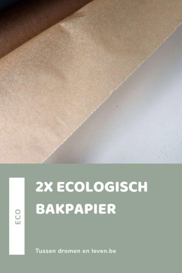 ecologisch bakpapier