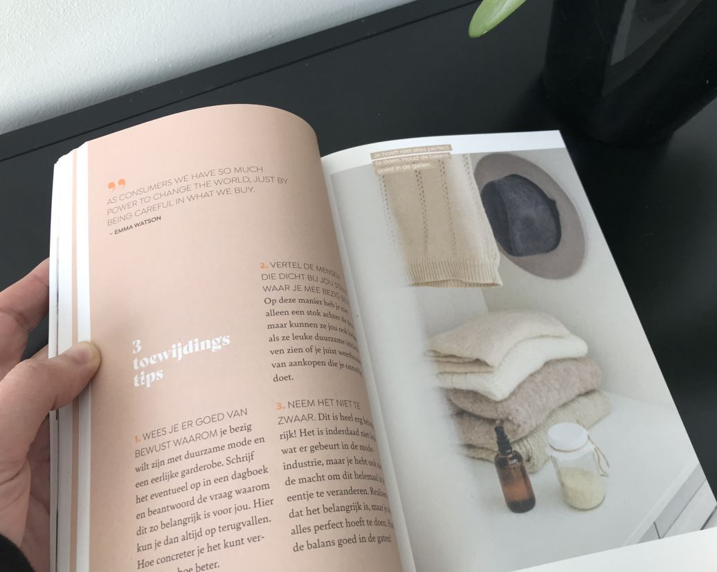 Boek A Sustainable Wardrobe