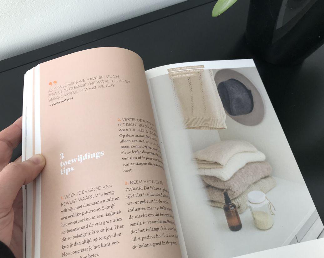 Boek A Sustainable Wardrobe