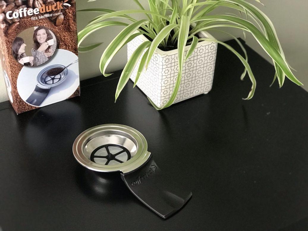 Herbruikbare koffiepad voor Senseo: Coffeeduck review