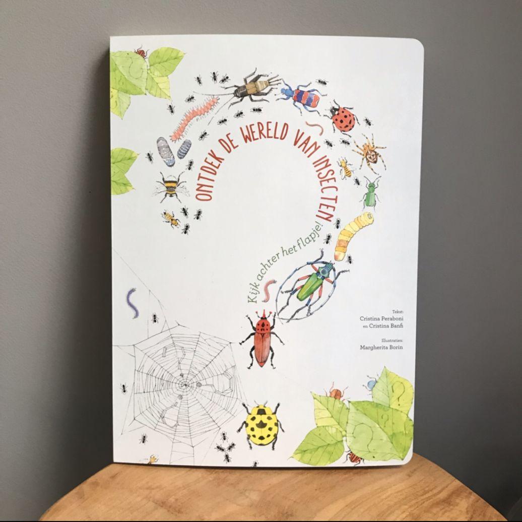 Tip: Kinderboek Ontdek de wereld van insecten