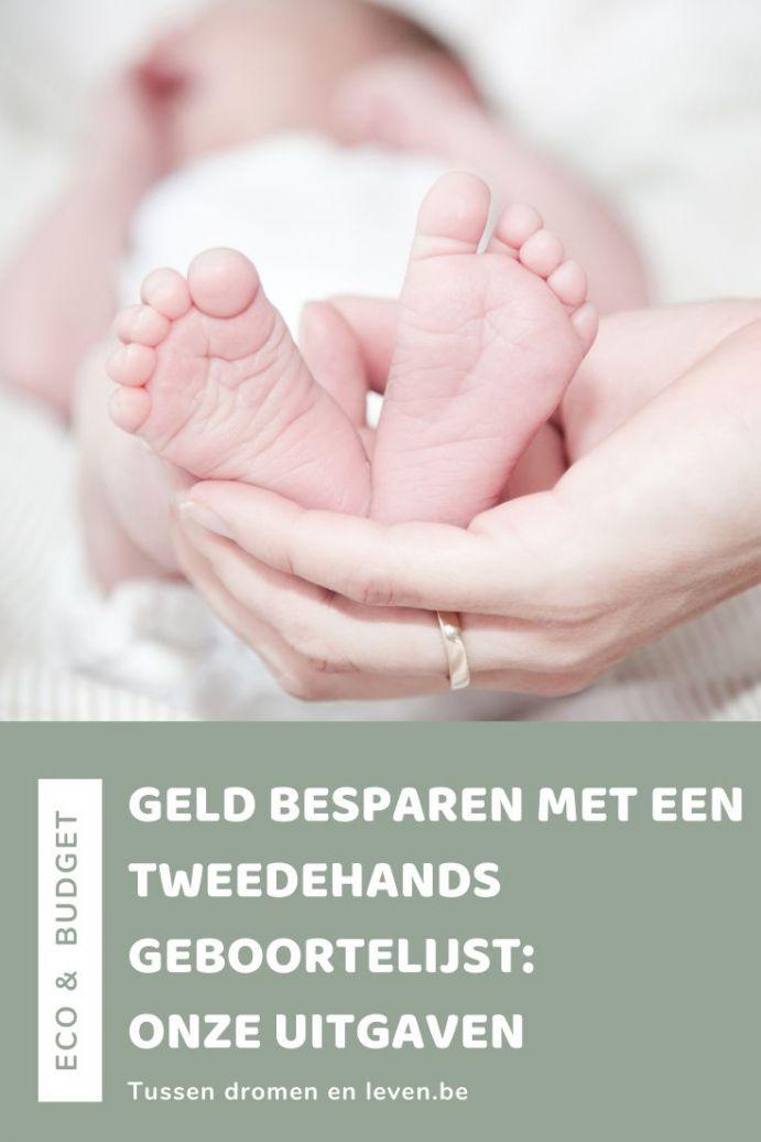 tweedehands babyuitzet: geld besparen met tweedehands geboortelijst