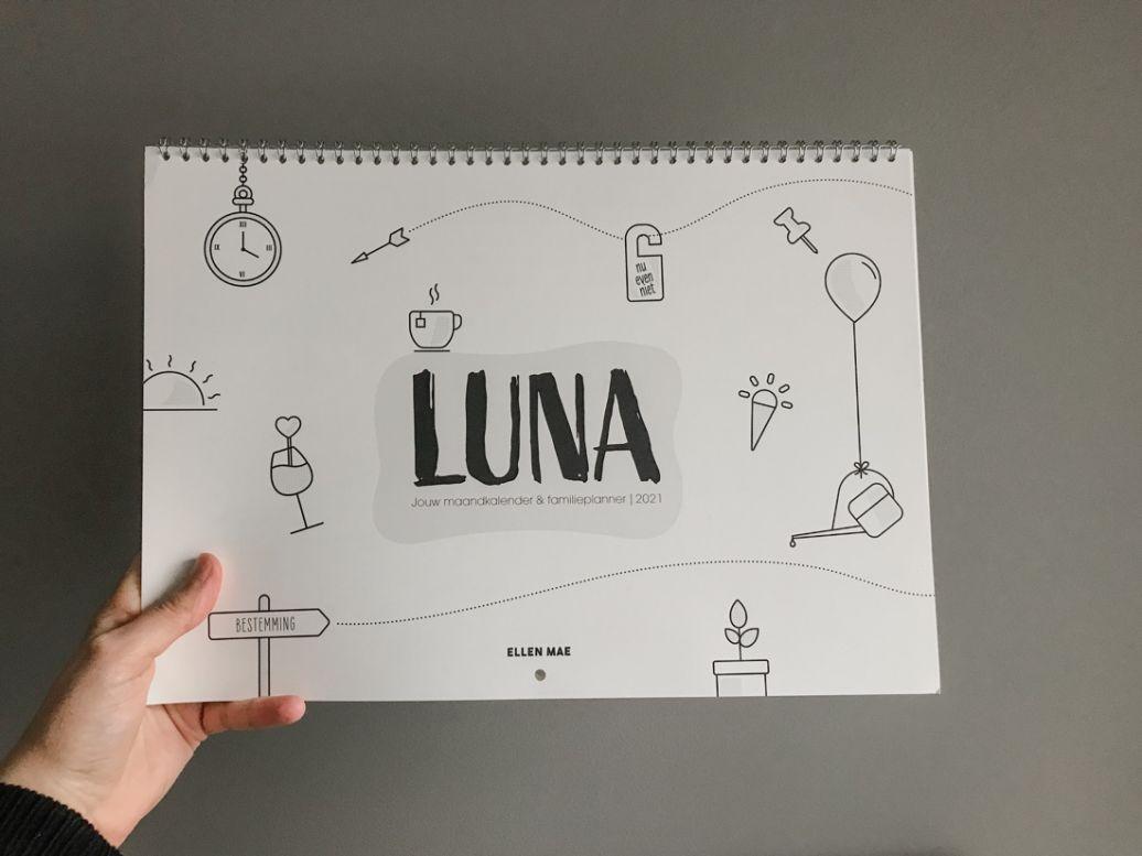 Duurzame familieplanner Luna