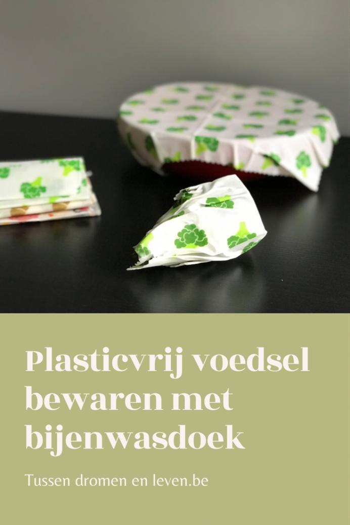 alternatief plastic folie bijenwasdoek