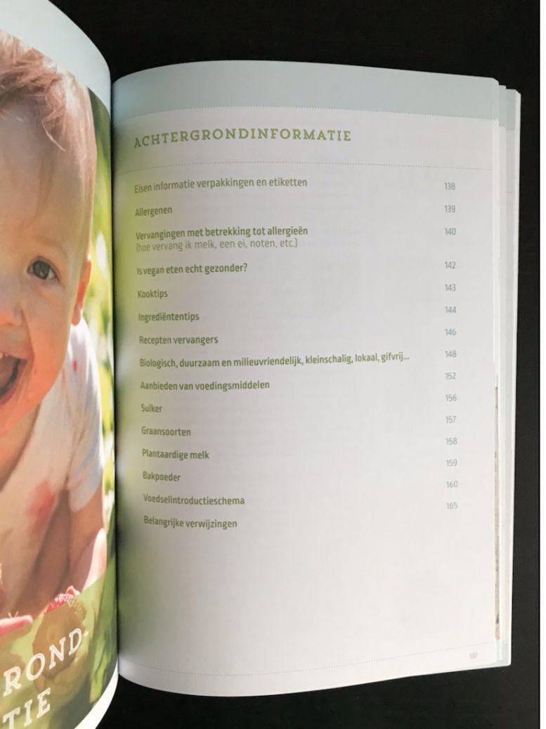 Recensie kookboek eten voor de kleintjes