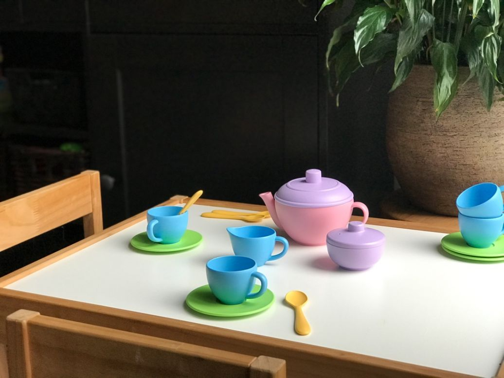 Green Toys koffie theeset