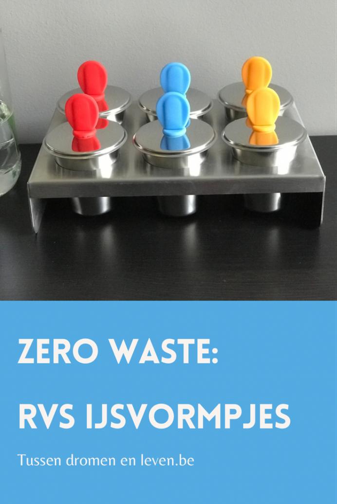 Zero waste rvs ijsvormpjes review