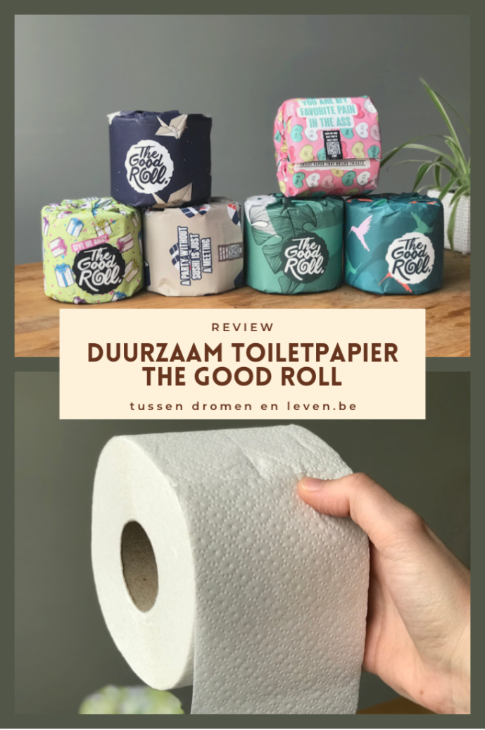 pin duurzaam toiletpapier van the good roll