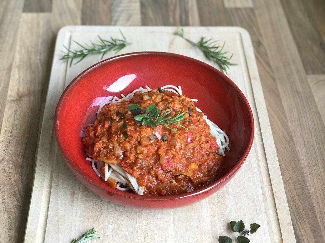 Greenway gehakt vegan spaghetti recept