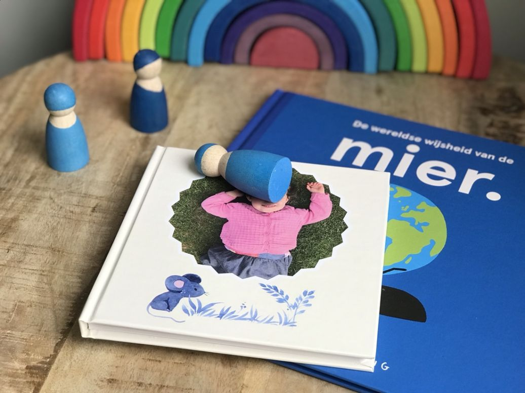 Kartonnen fotoboek voor kinderen boekje van karton